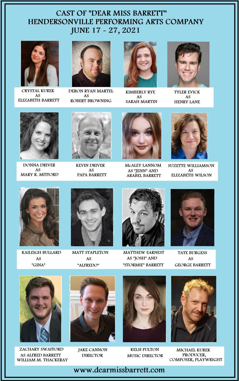 Cast Photos Named
